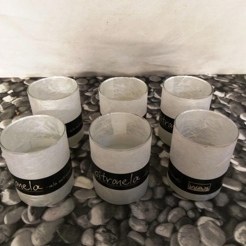 Vela Citronella Antimosquitos Vaso Cristal